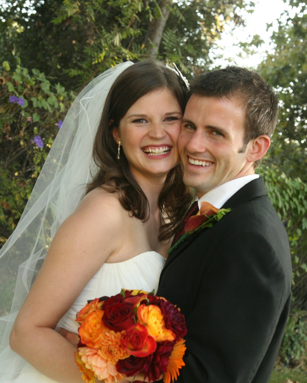 Katie and Adam Schuette Wedding photo 2008
