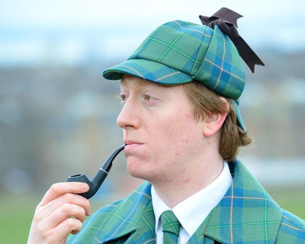 d483bd46363 Sherlock Holmes  hat - the deerstalker fashion — Sherlock Holmes Tartan