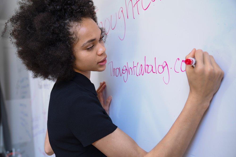 Julie Otte whiteboard white board grand rapids therapy