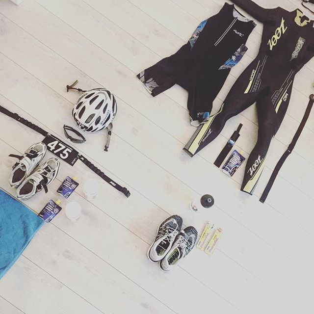 Klar for Oslo Triathlon #oslotriathlon #triathlon