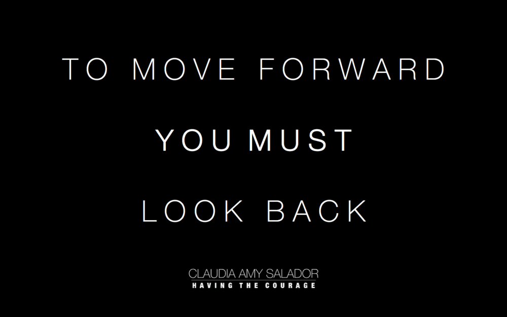 1/7/2018    'To Move Forward You Must Look Back'