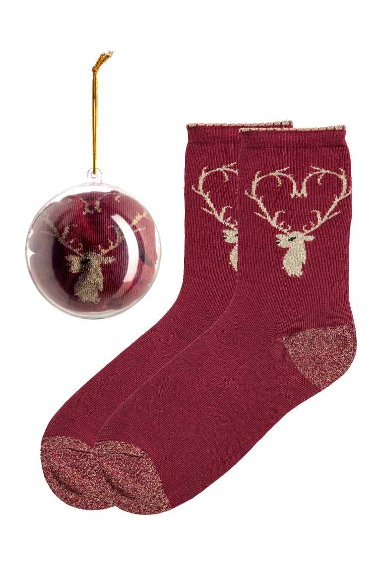 chaussettes noel christmas gift