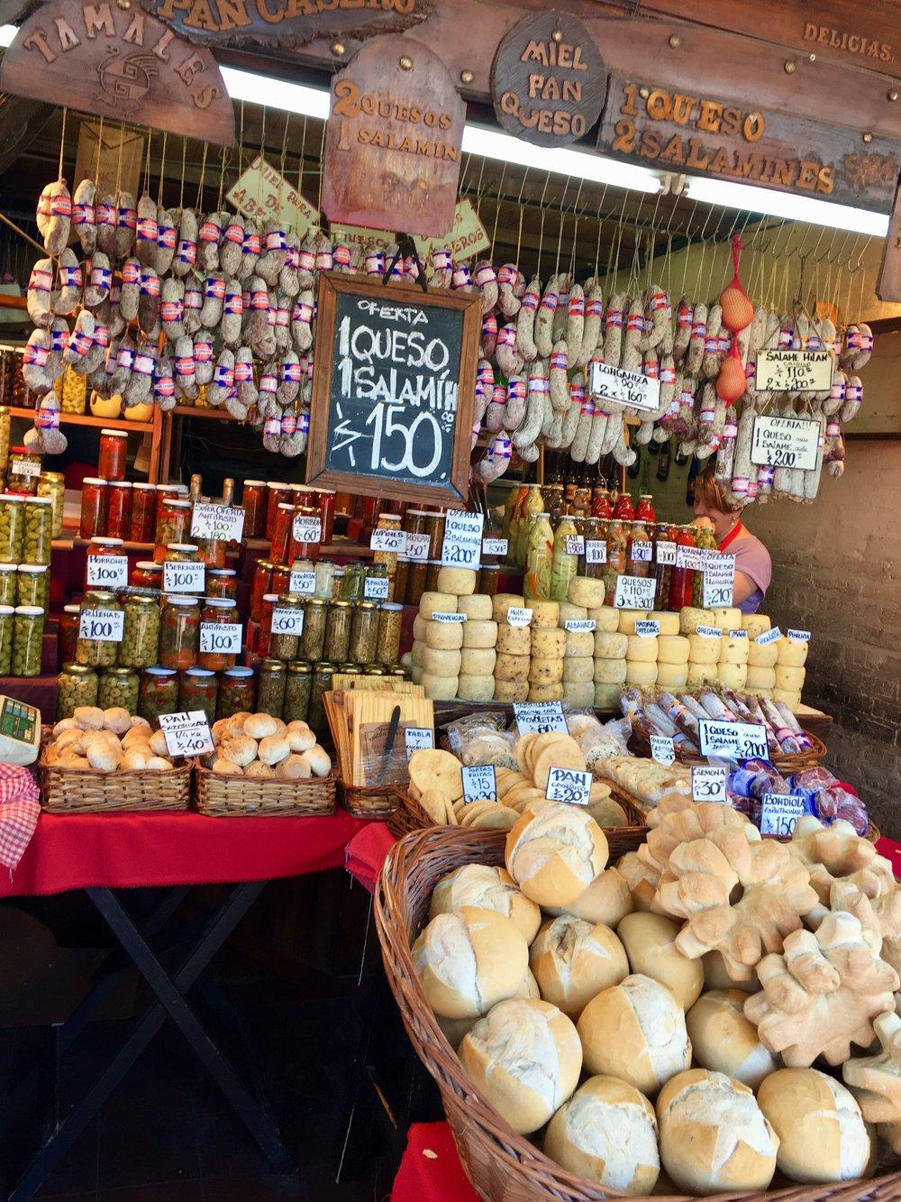 argentina productos comida mercado