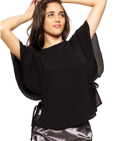 dafiti blusa negra año nuevo fiestas