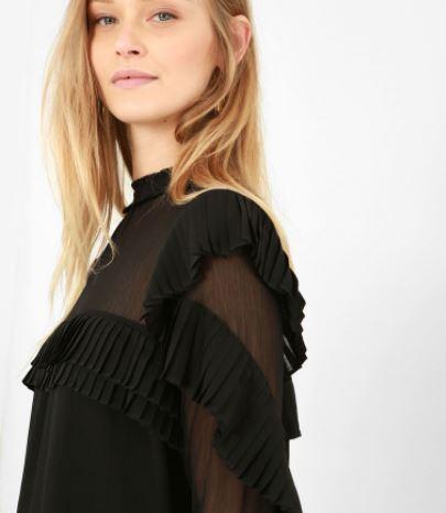 pimkie blouse noire nouvel an