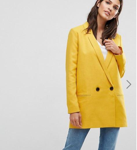 veste jaune asos tailor chaqueta amarilla rebajas.JPG