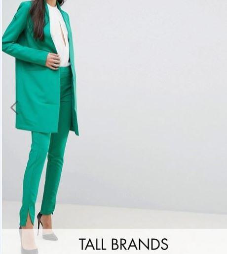 pantalon vert YAS a decoupe asos.JPG