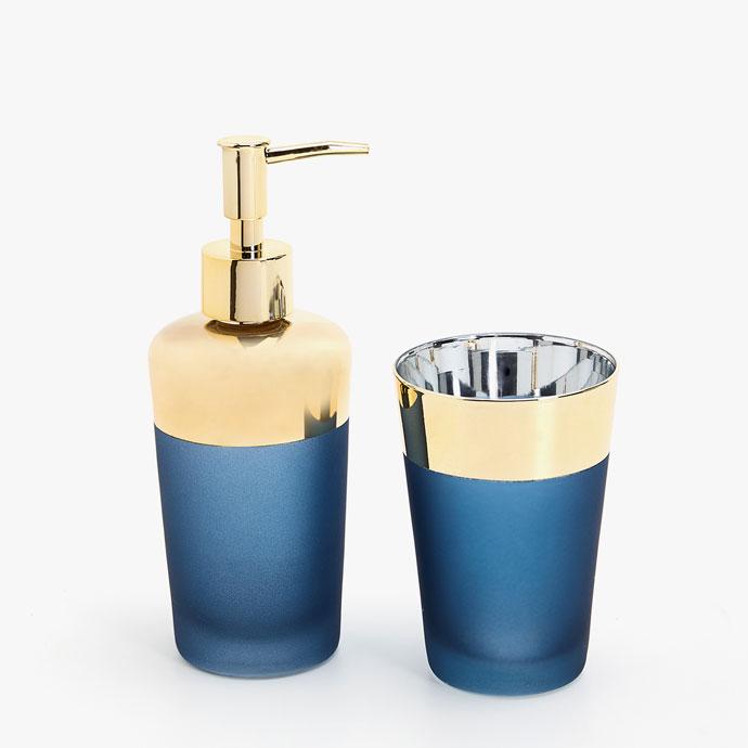 Ensemble de bain bicolore - Accessoires de salle de bains - Bain  Zara Home France.jpg