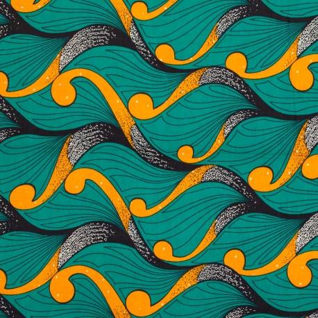 coupon-548-metres-tissu-wax-fleur-vert-orange.jpg