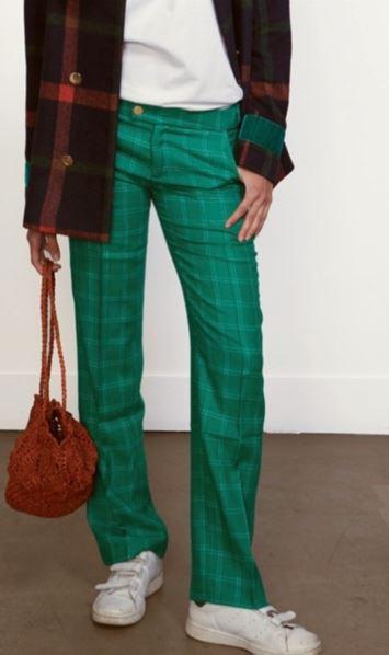 pantalon modetrotter vert vinted.JPG