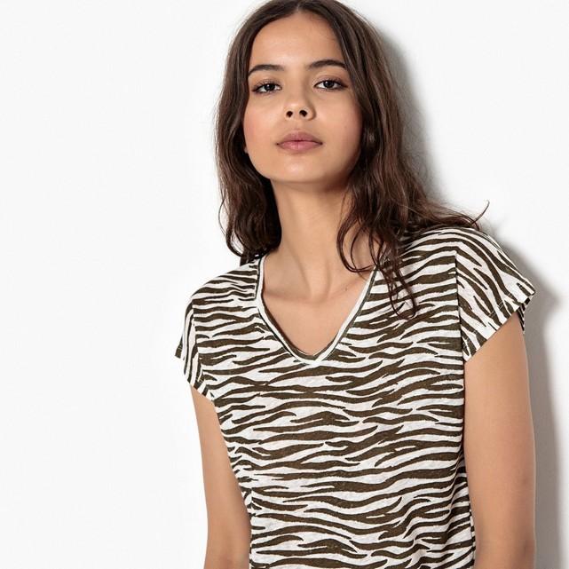 Tshirt en lin La Redoute