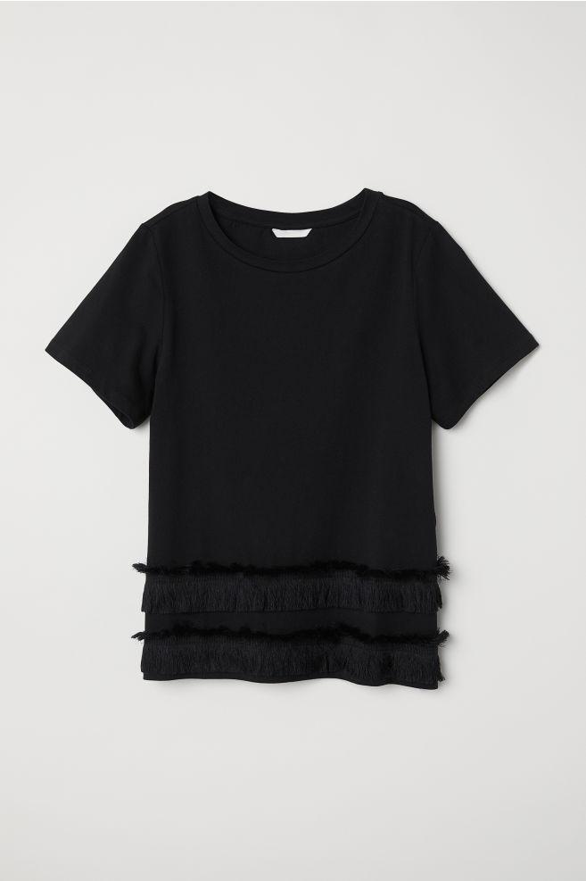 Top à franges H&M