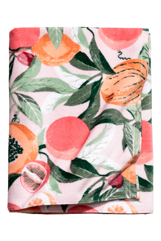 serviette de toilette fruits h&m.jpeg