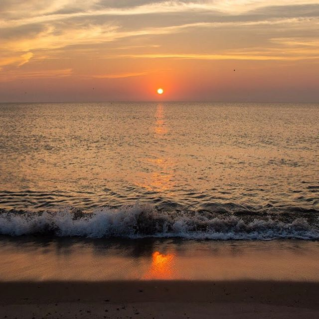 counting down the days until warm #summer mornings watching the sunrise at #nausetbeach 🗓