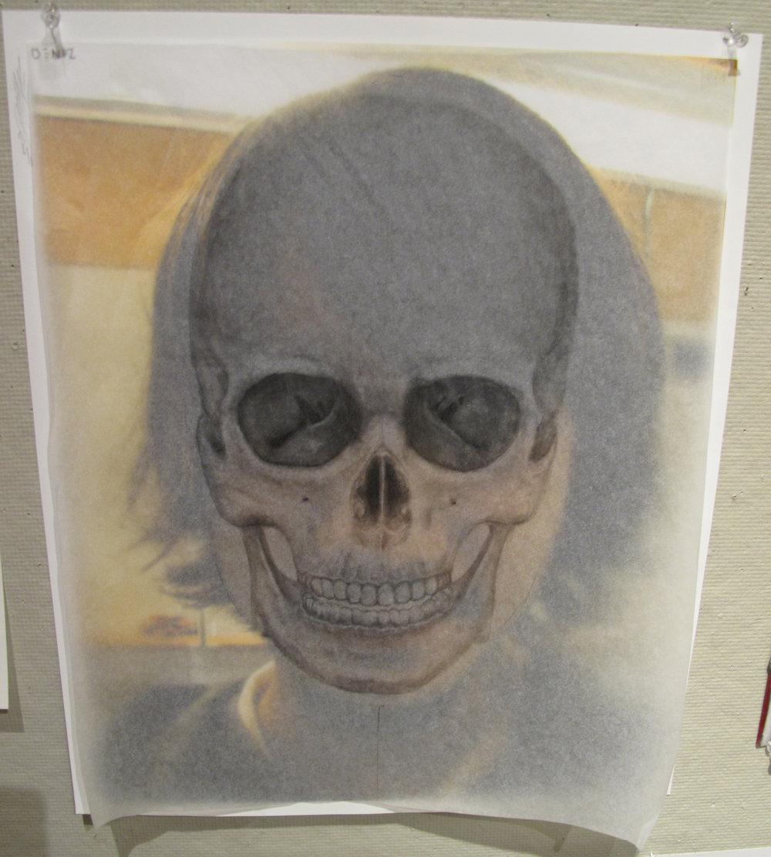 Deniz-skull self portrait .JPG