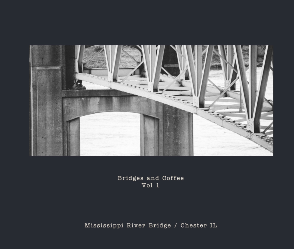 Bridges and CoffeeVol 1 - Mississippi River Bridge, Chester IL 2017By James MaesPrint Book, 32 PagesCategory Arts & PhotographySize Large Format Landscape, 13×11 in, 33×28 cmISBN Hardcover, ImageWrap: 9781389078958Publish Date Dec 28, 2017Language English