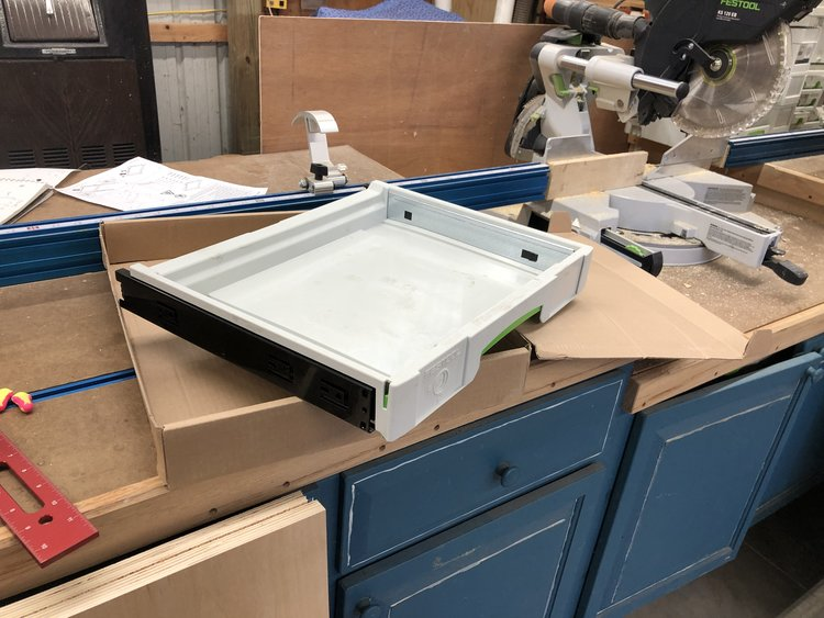 Building Cabinets For Festool Drawers Getting Started Part 1