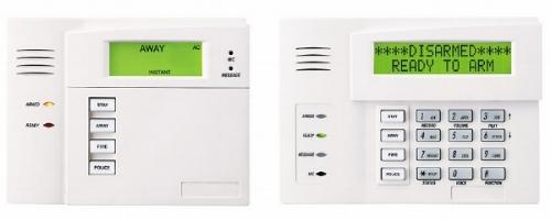 Honeywell LCD alarm keypad