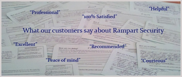 Rampart Security System reviews