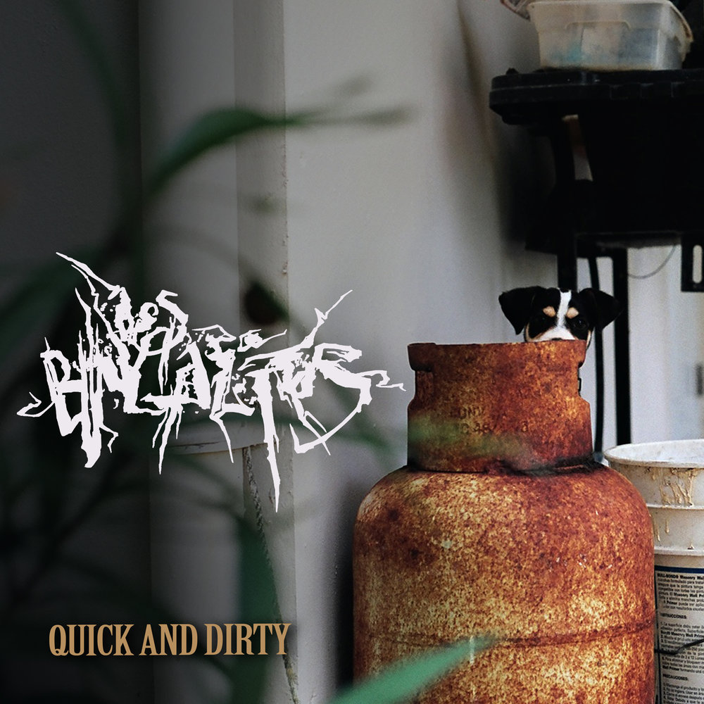 Los Bungalitos Quick and Dirty EP Cover .jpg