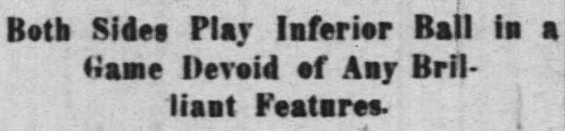(Enquirer, 10/7/1906)
