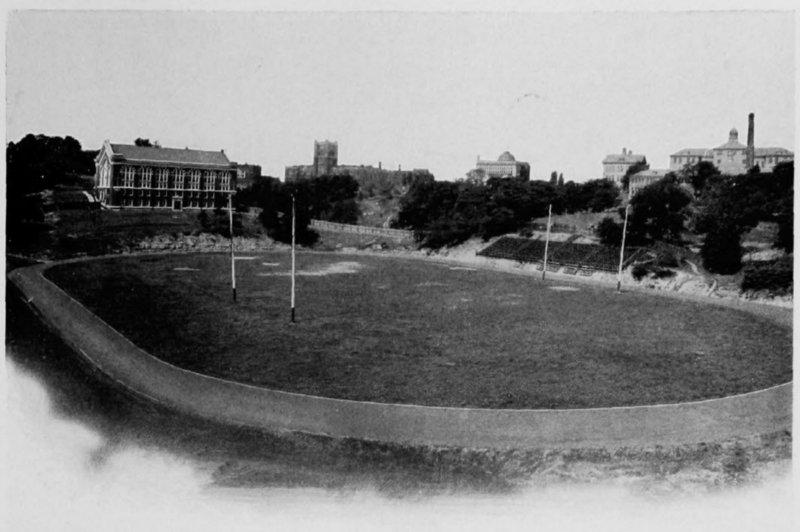 Carson Field before construction on Nippert Stadium began. (UC Libraries)