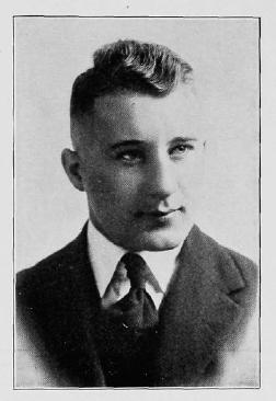 """1918 Bearcats QB Carl """"Babe"""" Frey"""