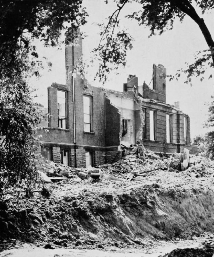 Old McMicken demolition [via The Cincinnatian]