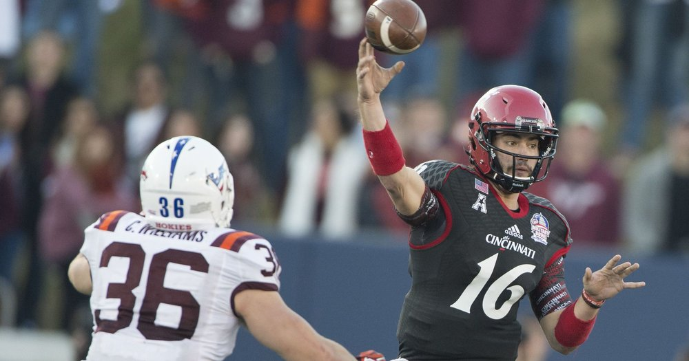 UC QB Mike Colosimo [Photo: Tommy Gilligan-USA TODAY Sports]