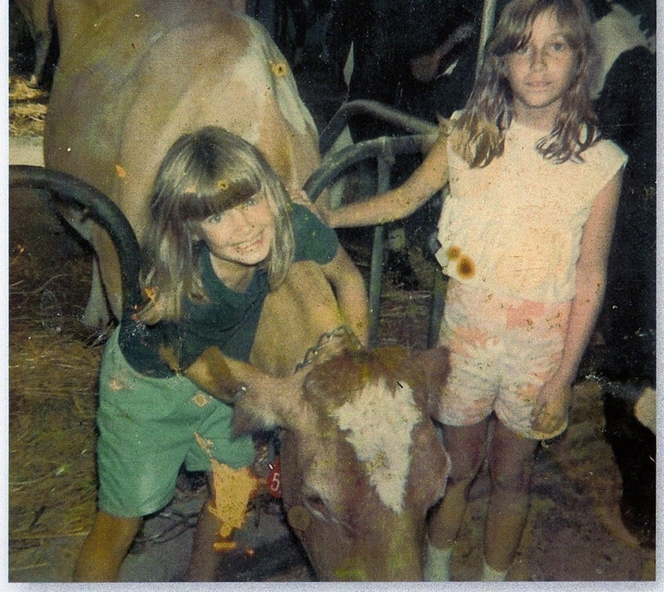 Julie Scipioni and Angela Scipioni, Co-authors, Iris & Lily (circa 1970)