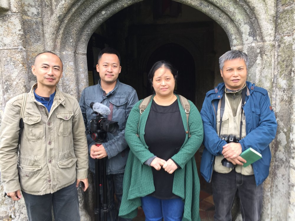 Visit of the Chinese filmcrew 2017.JPG