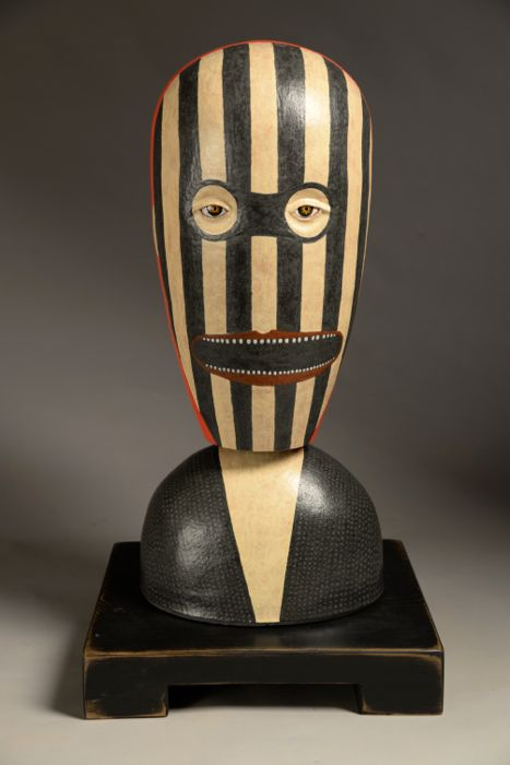 """Torso Hand built ceramic 27"""" x 15"""" x 12"""" sold"""