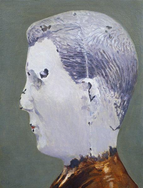 "Blanda Family / Burkhardt   Oil on canvas 11"" x 8.5"""