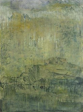 """Untitled  Oil on wood 40"""" x 30"""""""