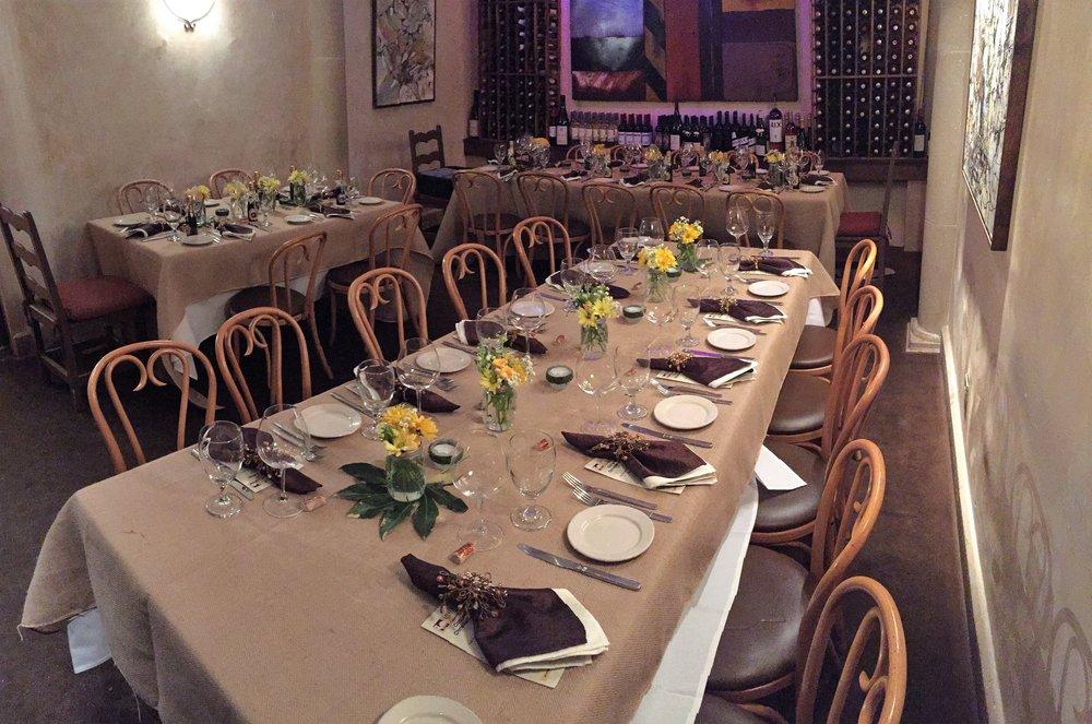 Rustique Wine Room