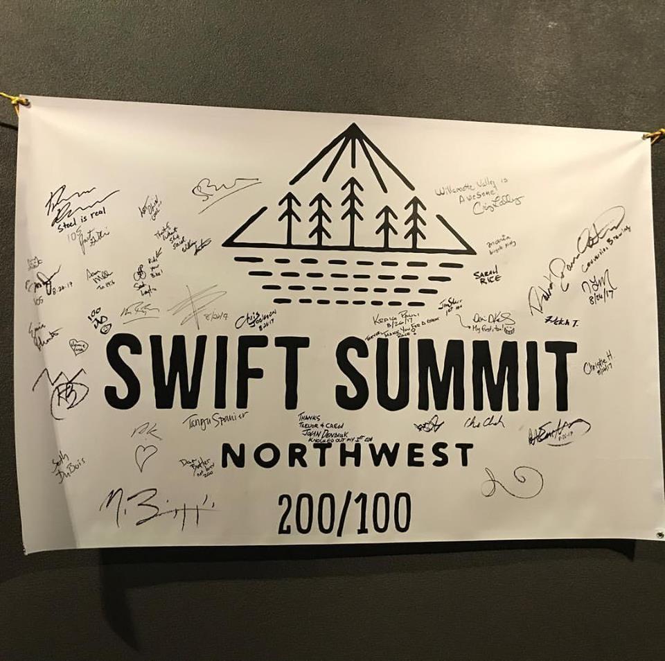 Finishers signatures!