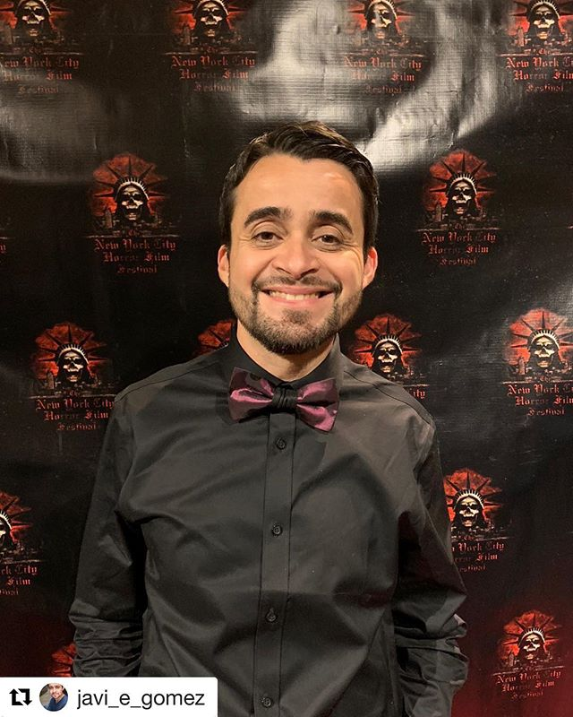#Repost @javi_e_gomez with @get_repost ・・・ Wearing one of my favorite bow ties by @vitrinasbyjoe last night for the #NYC premiere @dontlookthemovie @nychorrorfilmfest @cinepolisusa Awesome bow tie and accessories line, hand made by my dear friend J. Orlando Espinoza. It was a sensation! #entrepreneurship #vision #craft #artistry