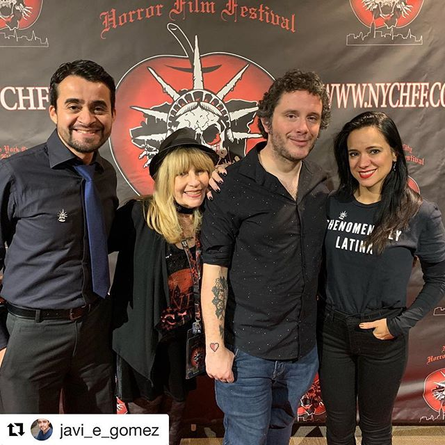 #Repost @javi_e_gomez with @get_repost ・・・ The party continues @nychorrorfilmfest 2018! Final day today 12/2/18. Check out the event line up and join us for this awesome celebration. Here are some images of last night, including surprise birthday bash for film icon @tonytoddofficial, Lifetime Achievement Award 2018 recipient. @yoloswag420fordayz @lucianafaulhaberofficial @dontlookthemovie #filmmaking #nychff #indiefilm #unity #community #empowerment