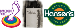Barefoot Wine & Bubby, Tallulah Wines, Hansen's Natural Cane Soda