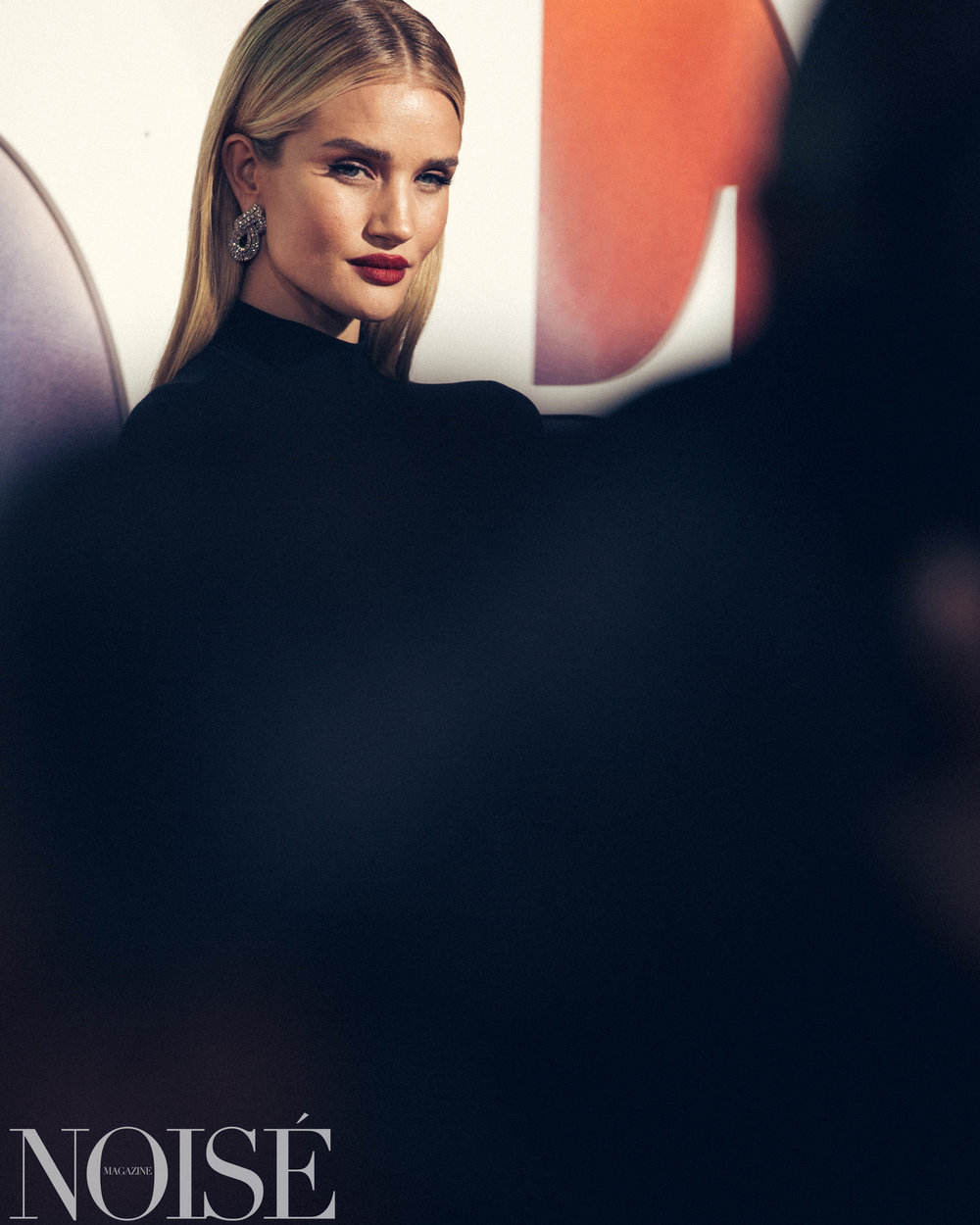 Rosie HW wearing The Row at BoF 500 gala, Photograph by Siyu Tang for NOISÉ