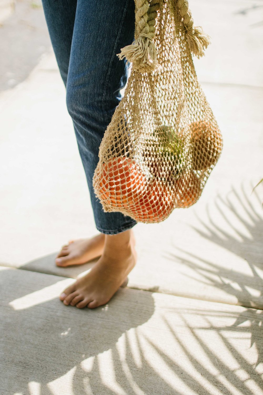 Jumbo Hemp String Bag.