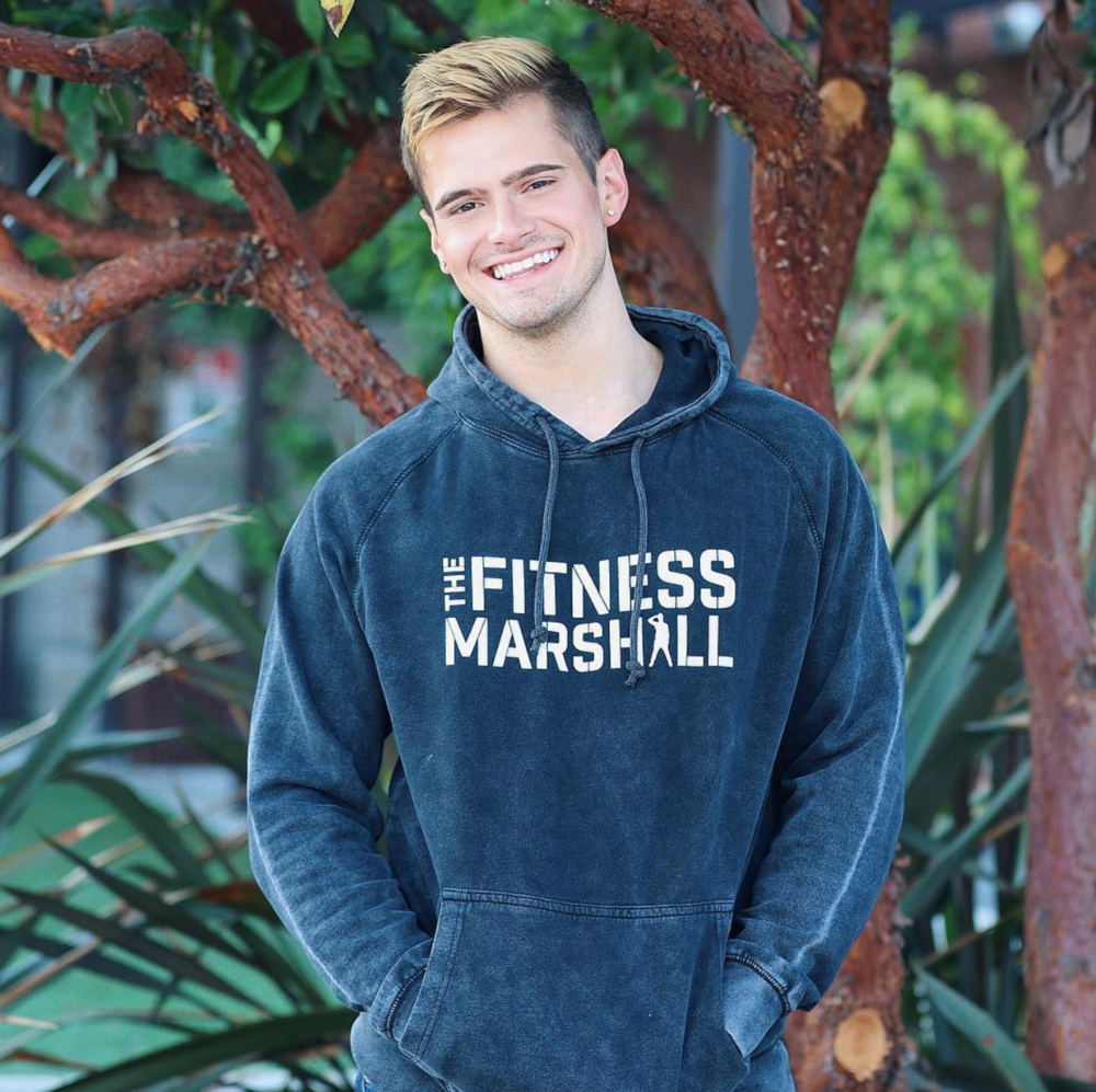 Caleb Marshall. Founder/Star of the viral dance channel The Fitness Marshall.