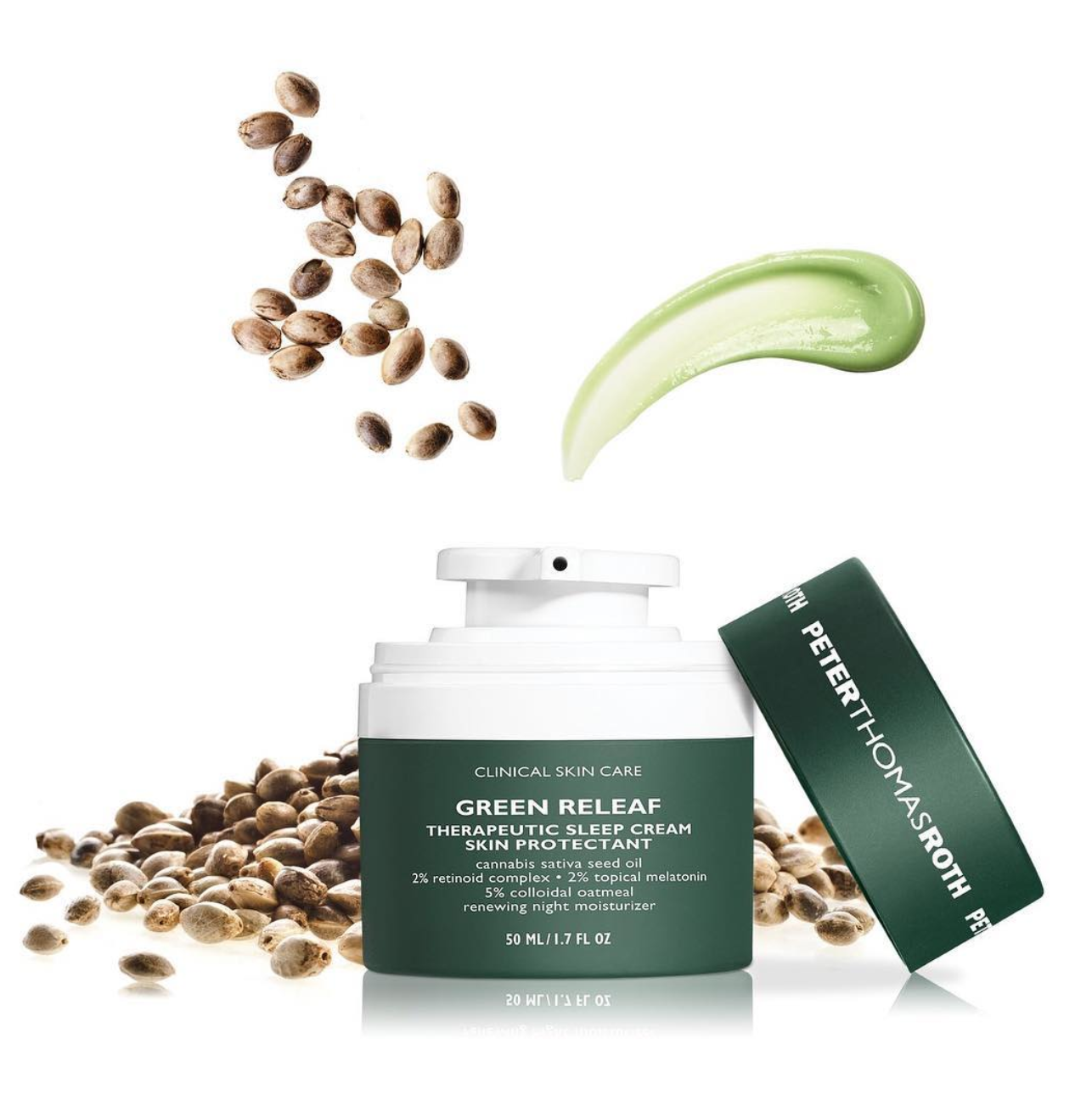 Journal | I Tried Cannabis Seed Face Cream For a Week