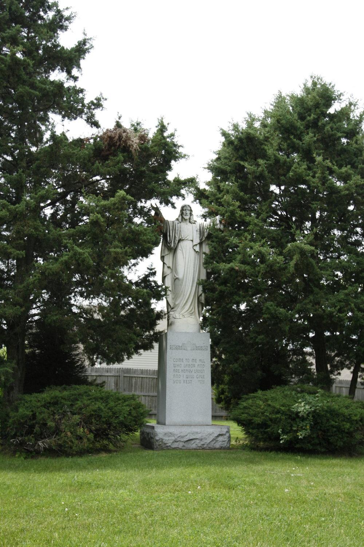 statue amongst trees.JPG