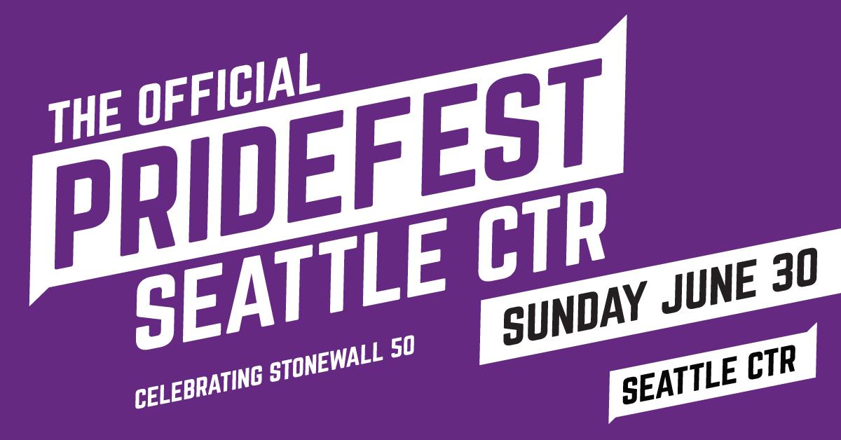 Pride Month Calendar 2019.Events Seattle Pridefest