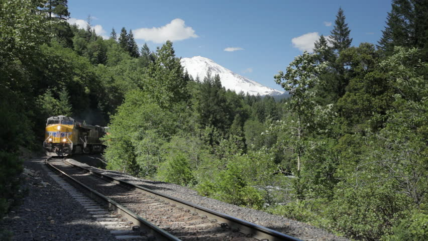 Mt Shasta from Dunsmuir