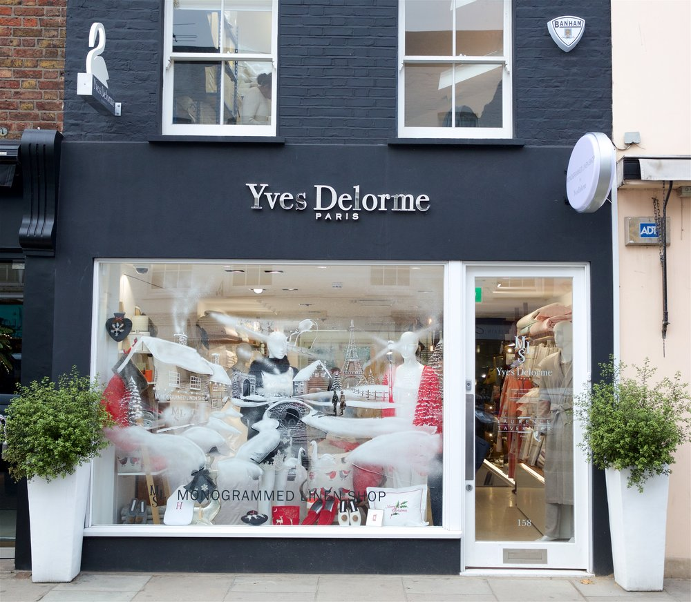 Rakish gifting at  Yves Delmore