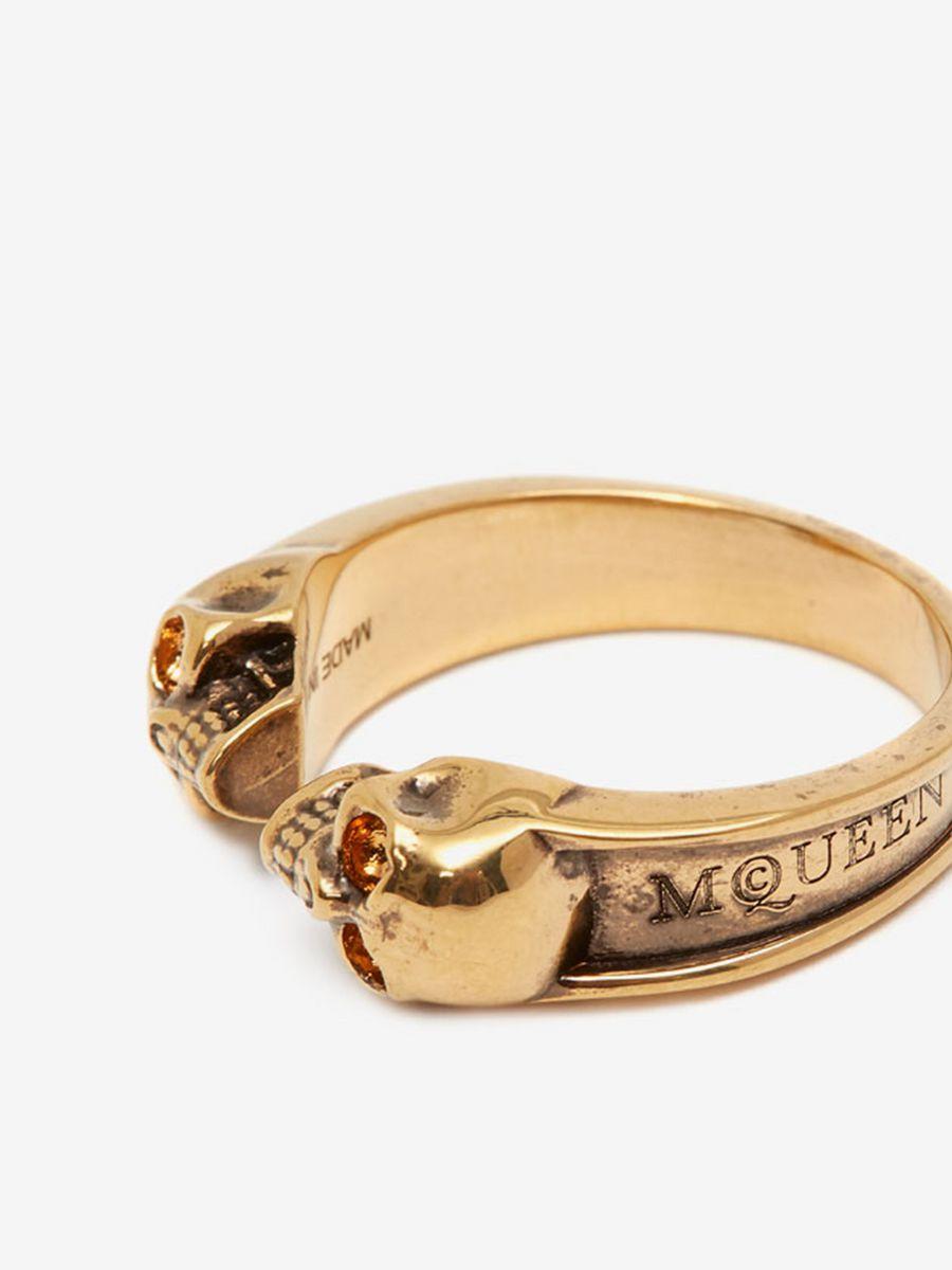 Alexander McQueen ring  - £275
