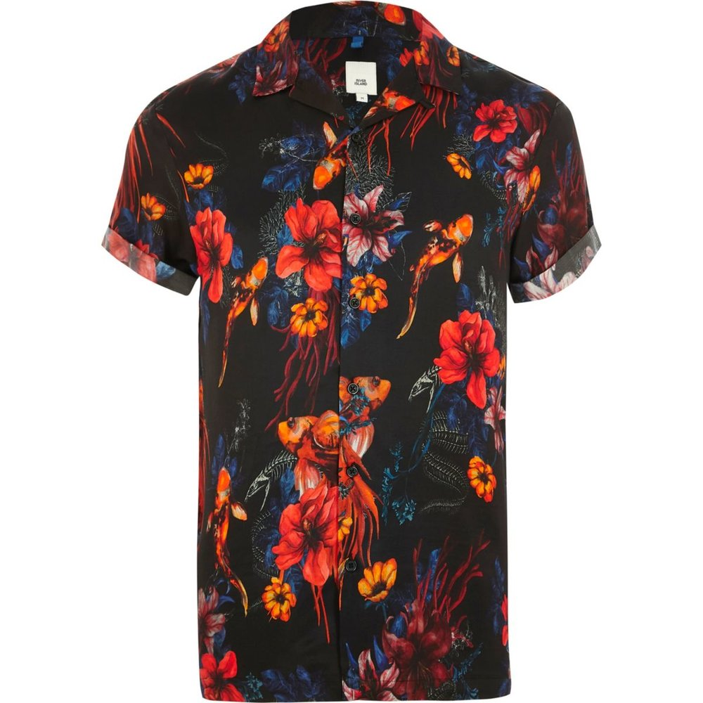 River Island shirt - £28 - Florals x fish - enough said.