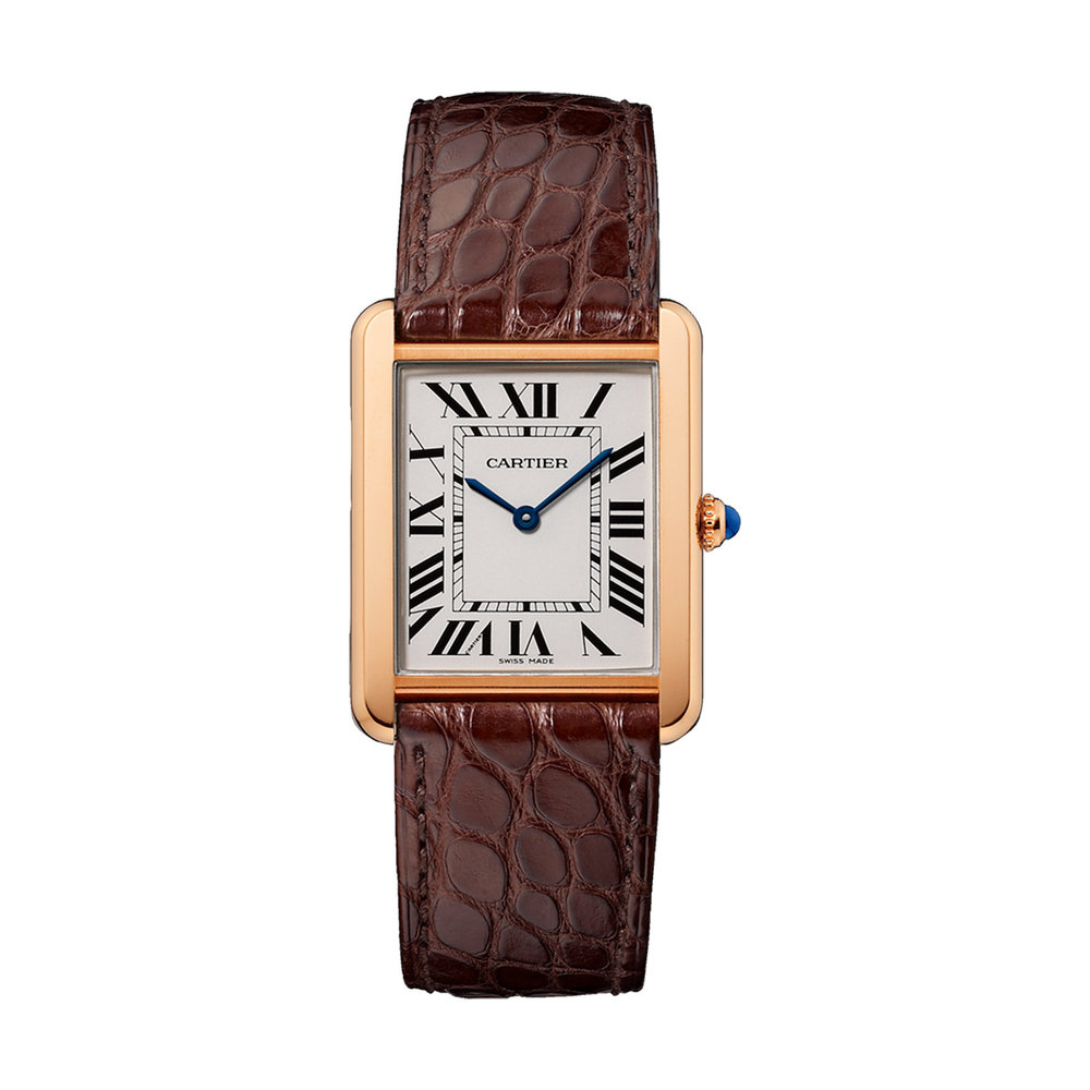 Cartier Tank solo watch at Goldsmiths - £4,050